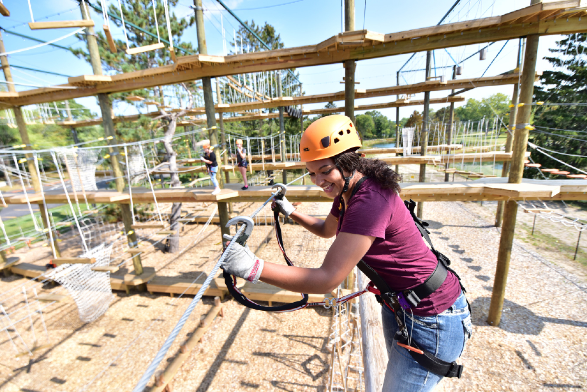 Big Foot Ropes Course