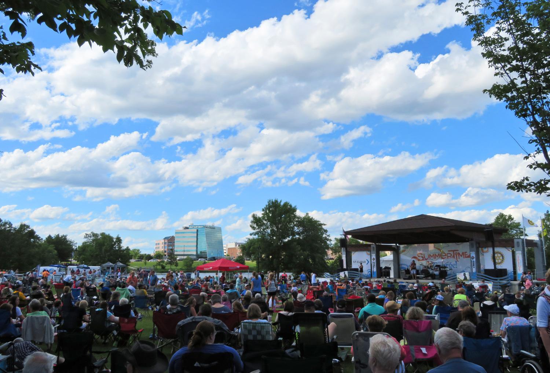 Lake George concert