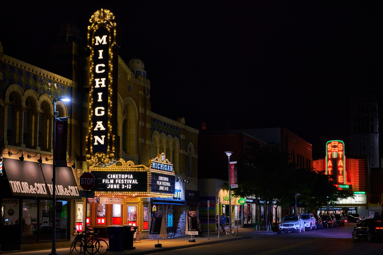Michigan and State Theaters