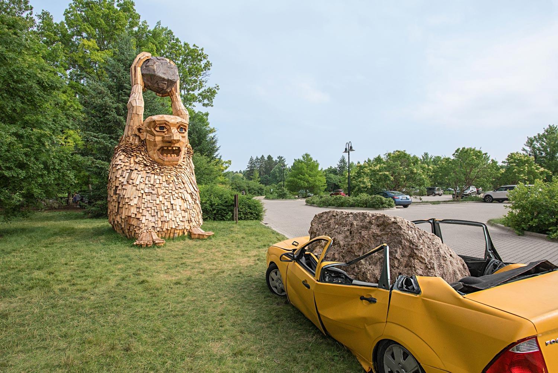 Morton Arboretum trolls