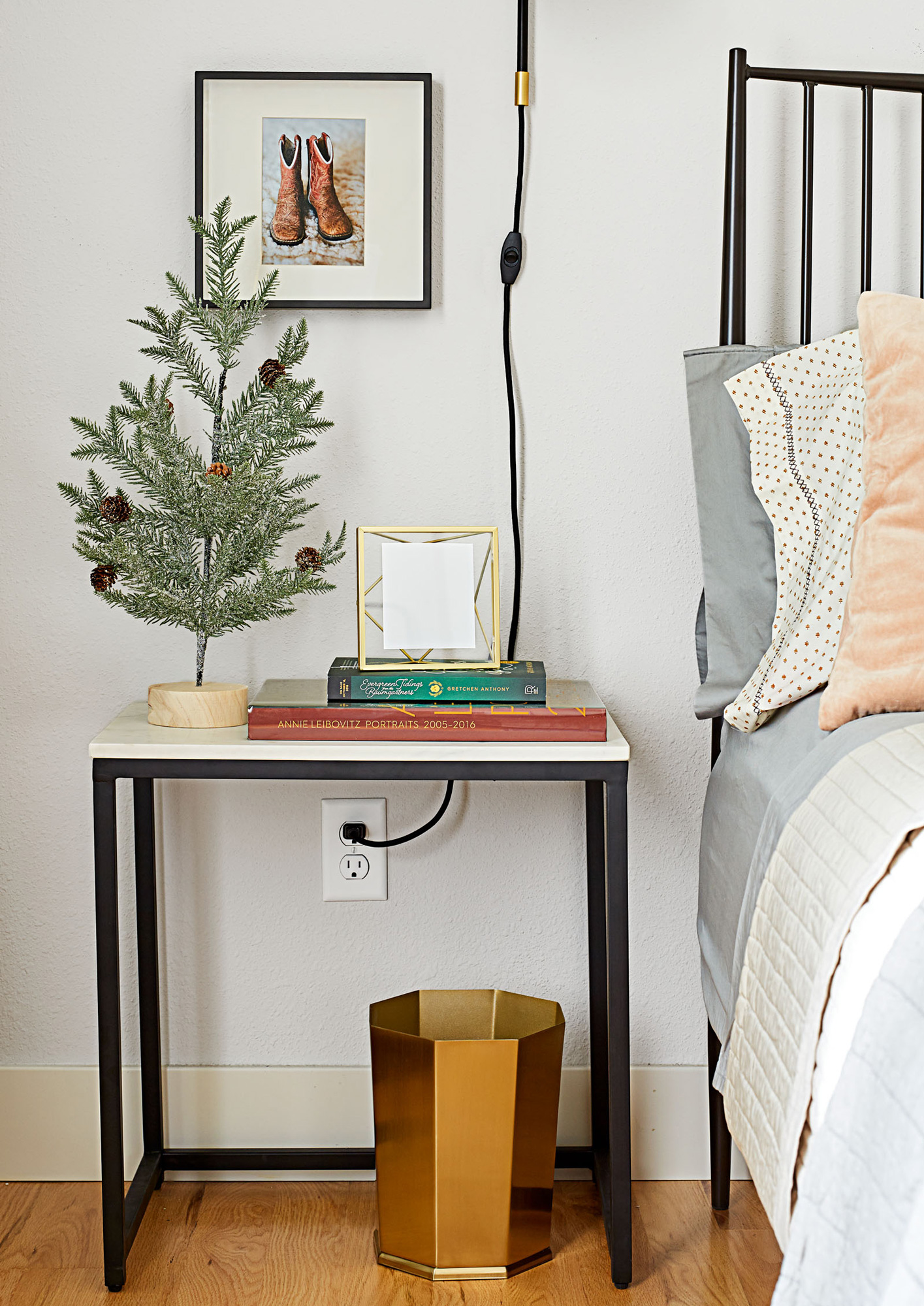 Small Comforts: Put the Wi-Fi password in a can't-miss-it frame picture frame.