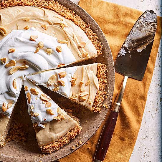 Peanut Butter Chiffon Pie