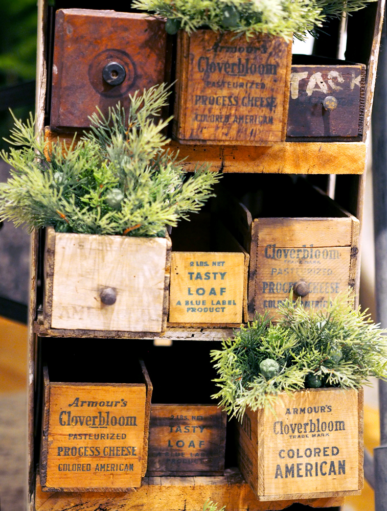 Vintage spruce shelf