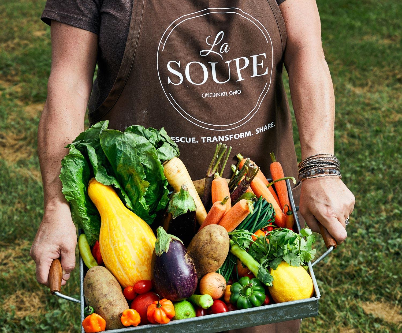 La Soupe produce