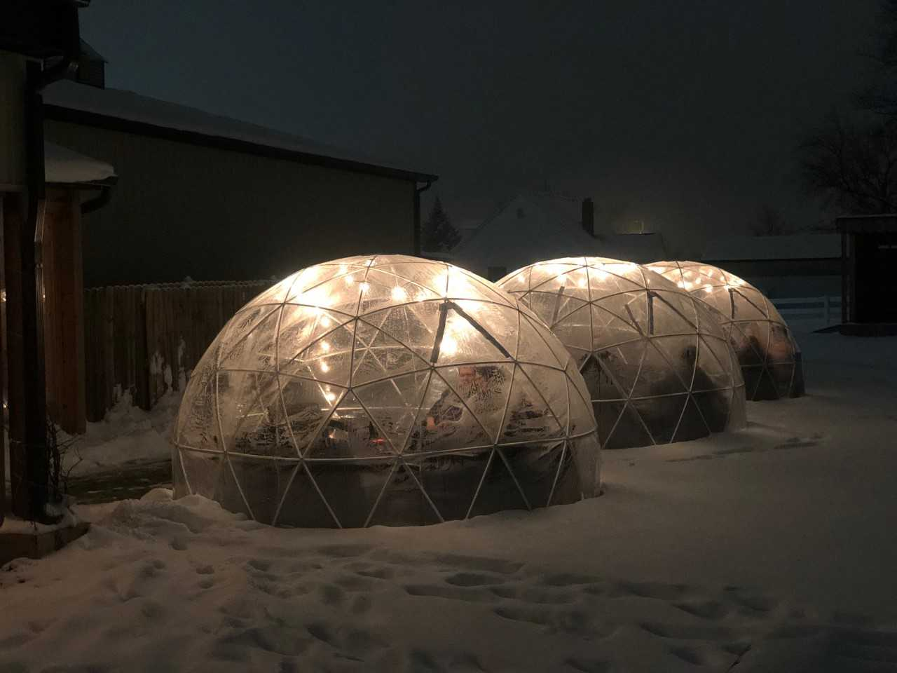 Urban Vines Igloos