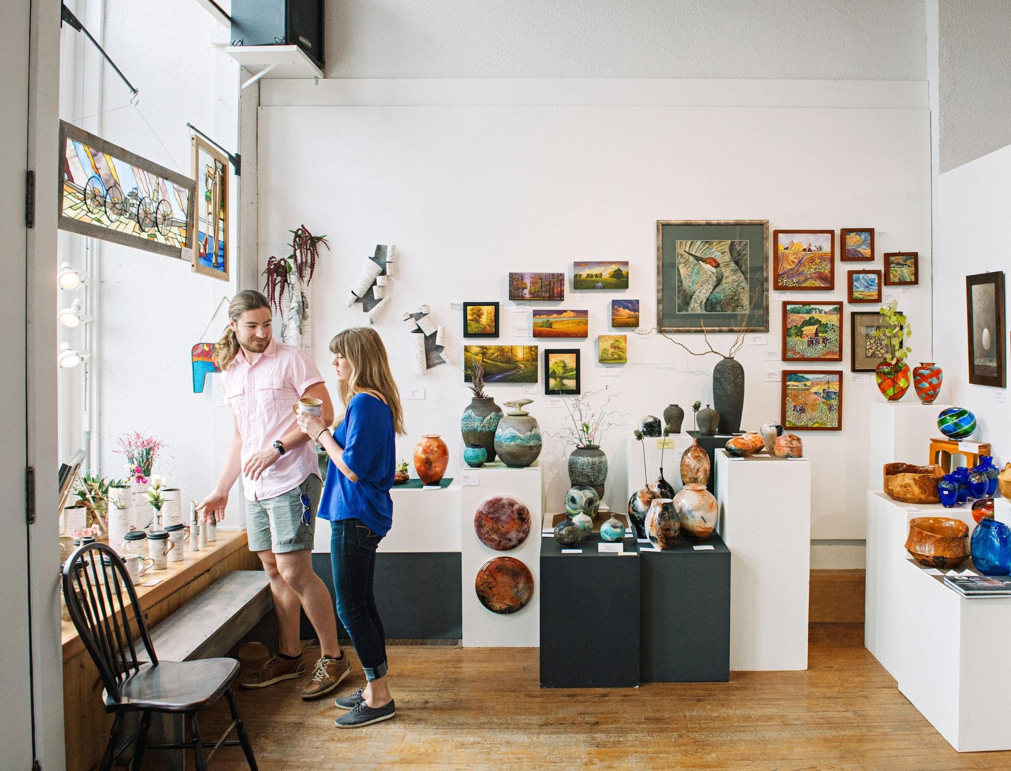 Lanesboro Arts gallery