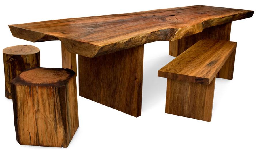 David Stine table