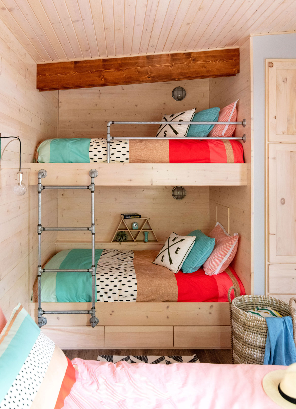 Johnson cabin bunks