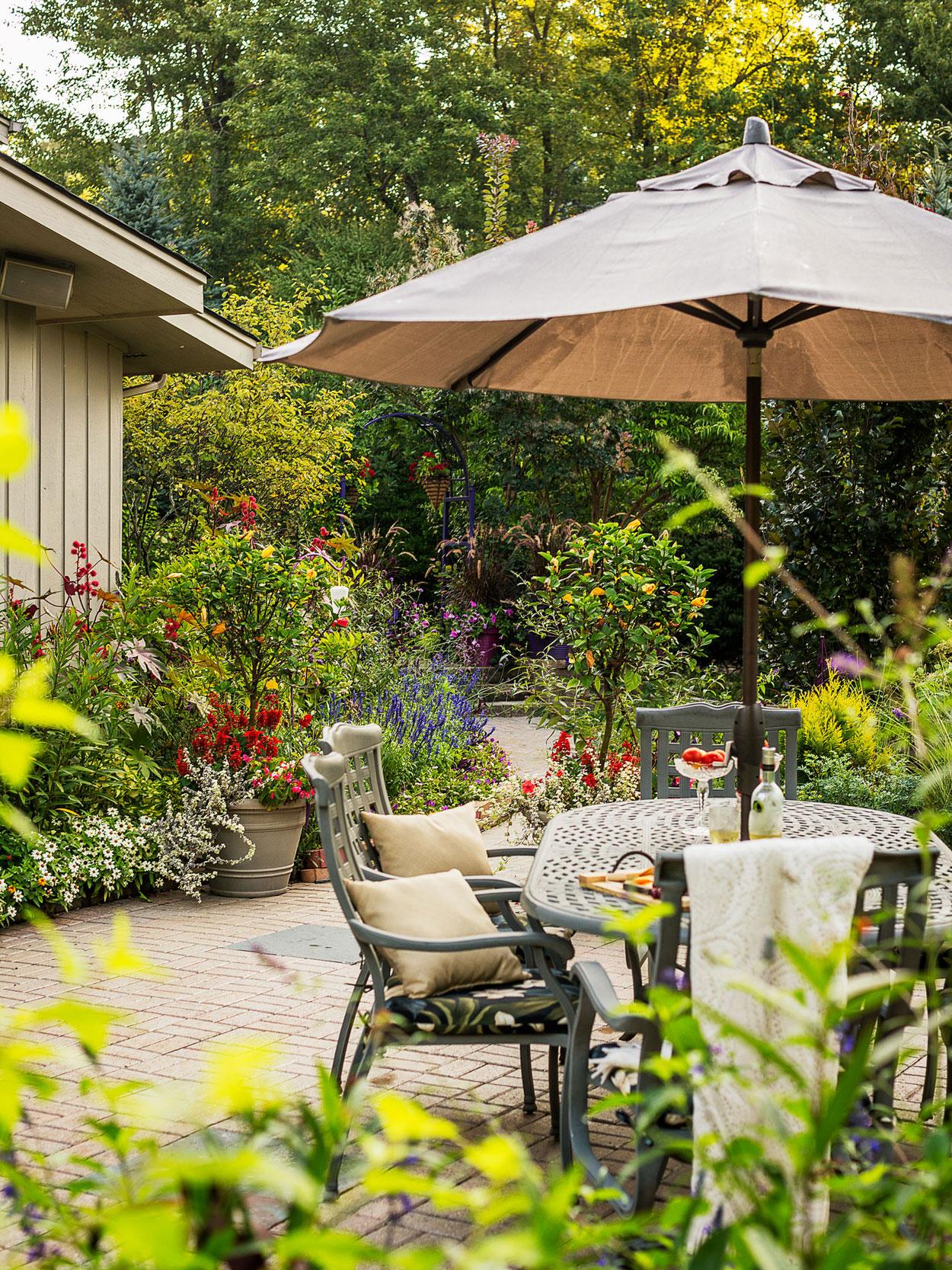 Butterfly-friendly backyard