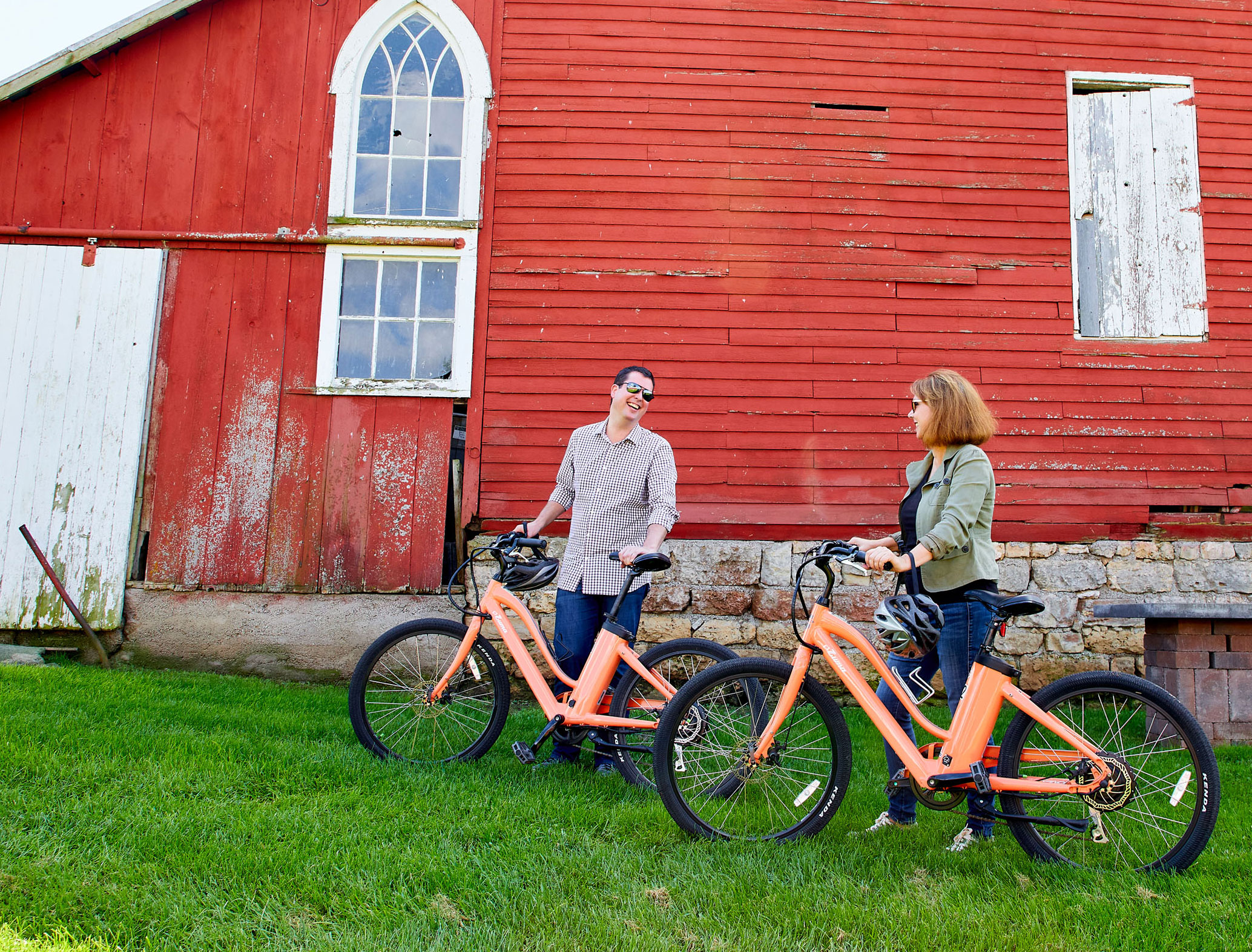 E-Bike Ride Through The Countryside