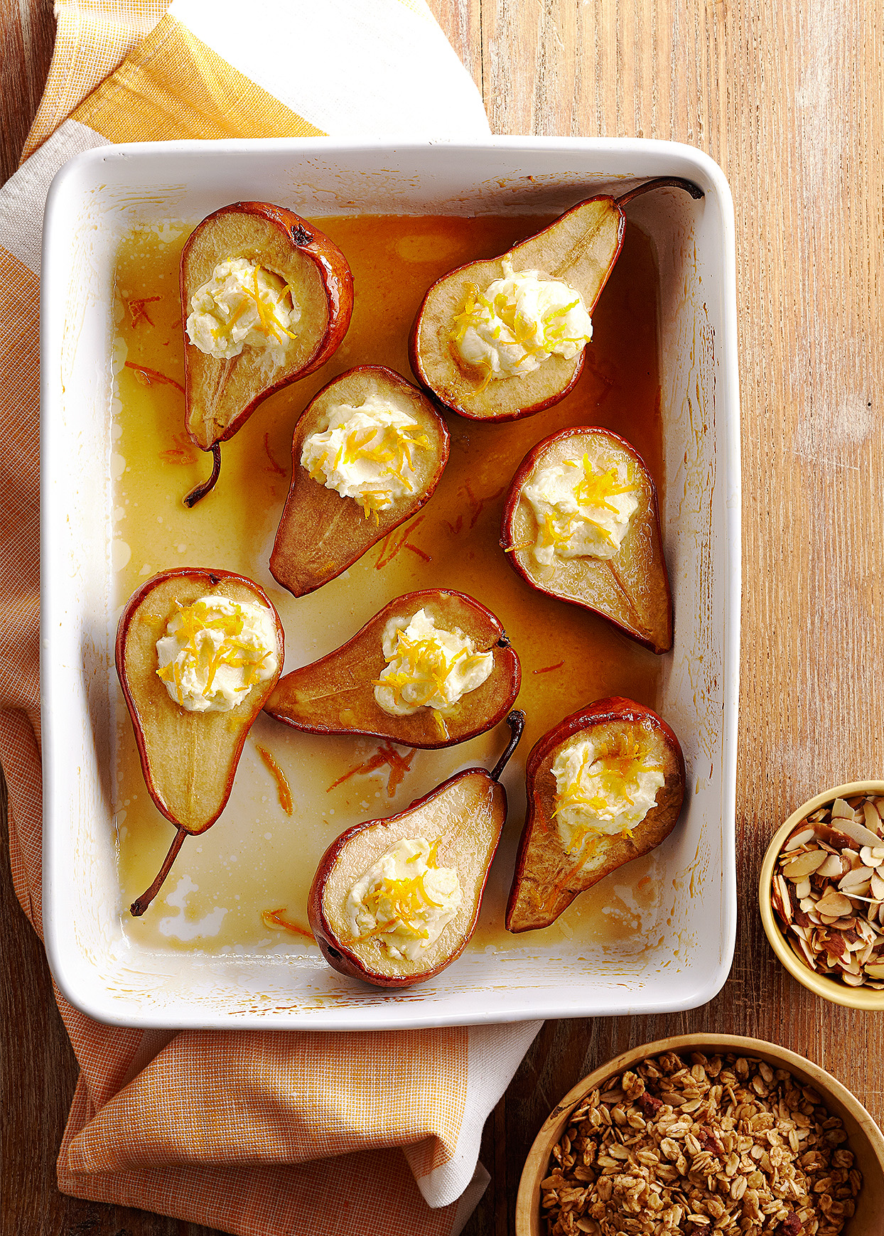 Roasted Breakfast Pears