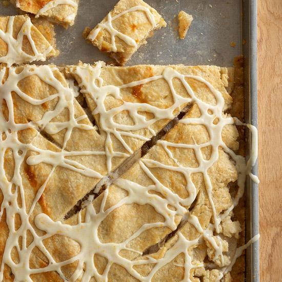 Five-Spice Pear Pie Bars