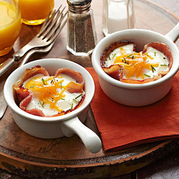 Ham-and-Egg Cups