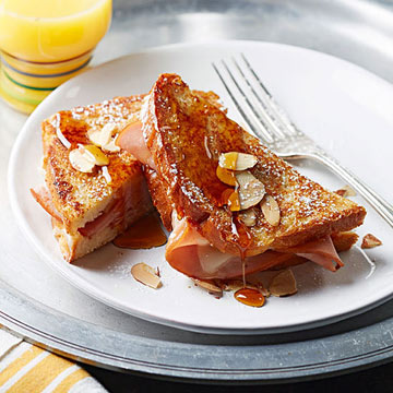 Ham-and-Cheese-Stuffed French Toast