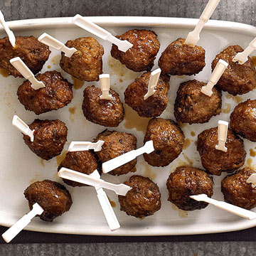 Molasses-Lime Meatballs