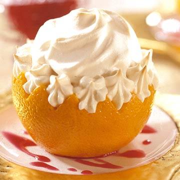 Cranberry-Orange Baked Alaska