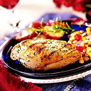 Wine Marinated Grilled Chicken Breasts