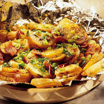 Hot-Off-the-Grill Potatoes