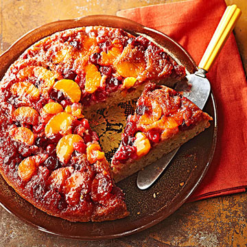 Cranberry Orange Upside Down Cake