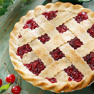 Double-Cherry Supreme Pie