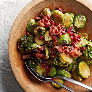 Butter-Roasted Brussels Sprouts Marshall Paulsen, Chef