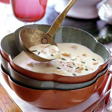 Night-Before-Christmas Clam Bisque