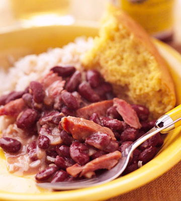 Big Irv Favre's Red Beans and Rice