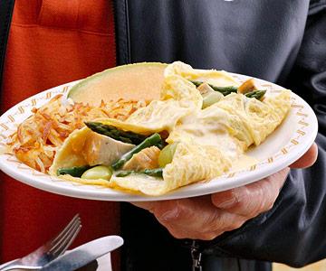Chicken Divan-Style Omelet