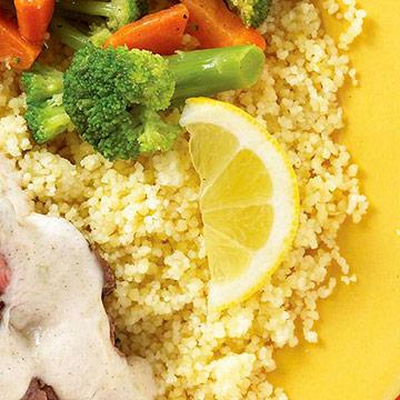 Lemon Couscous