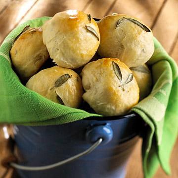 Sage Potato Rolls