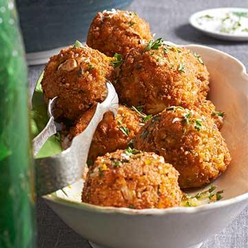 Sweet Potato Cauliflower Fritters Recipe by Faith Durand
