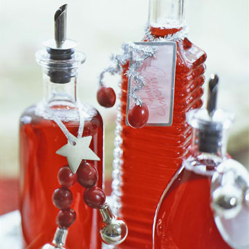 Holiday Cranberry Syrup