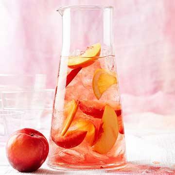 Rosy Stone Fruit Sangria