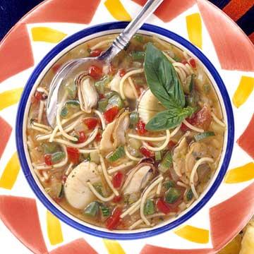 Seafood Minestrone