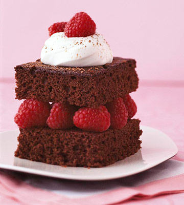 Heavenly Devil's Food Cake