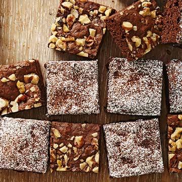 Chia Fudgy Brownies