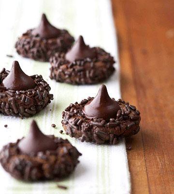 Super-Duper Chocolate Kisses Cookies