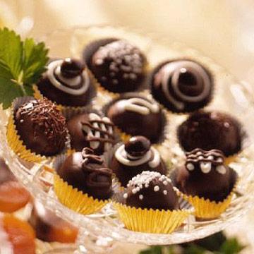Triple-Chocolate Mocha Truffles