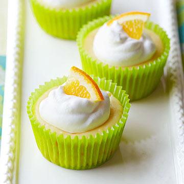 Baby Citrus Cheesecakes