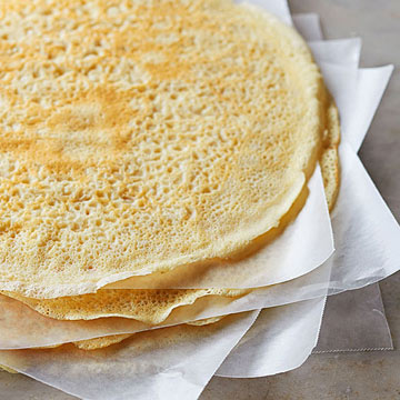 Basic Crepes with Variations