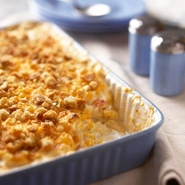 Chicken and Corn Hash-Brown Bake