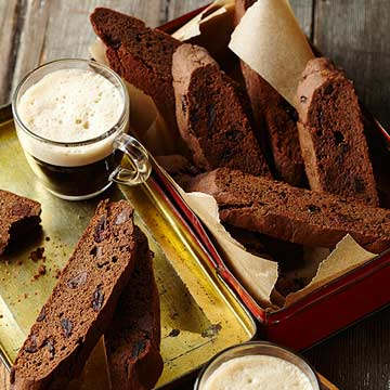 Chocolate-Cranberry Biscotti