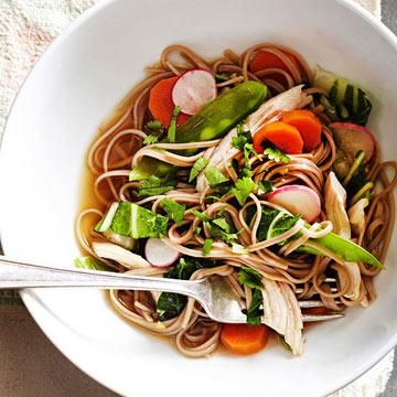 Soba Noodles with Spring Vegetables
