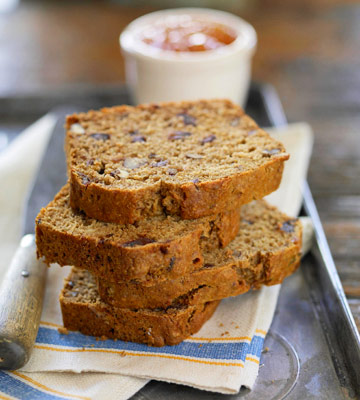 Maple Date-Nut Bread