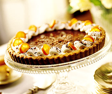 Chocolate-Grand Marnier Tart
