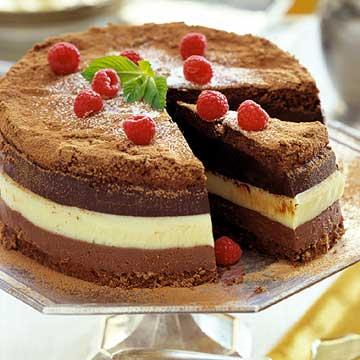 Truffle Trio Torte