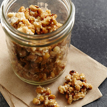 Sweet-and-Salty Soybean Crunch