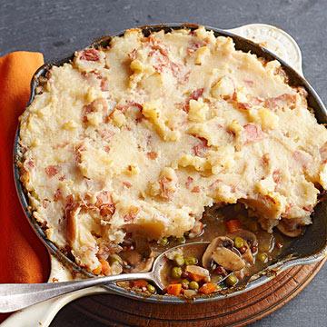 Mushroom-Lentil Meatless Shepherd's Pie