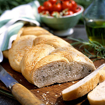 Herbed Country Twist Bread