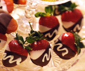 Double-Dipped Strawberries